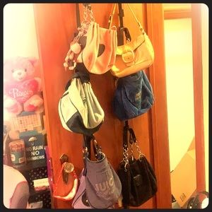 Nearly new Juicy Couture purses.
